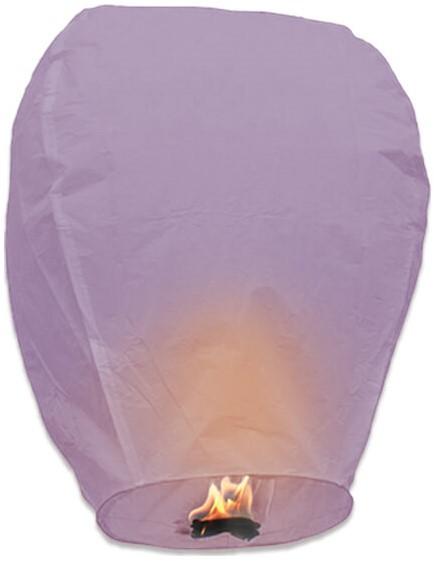 wensballon paars kopen